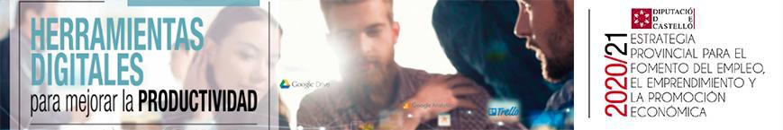Taller: Eines digitals per millorar la productivitat